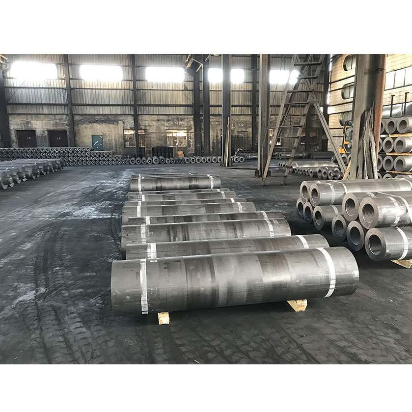 UHP 400mm High Carbon Graphite Electrode for EAF