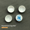 24ml Container 6dram Vial with Push&Turn Cap