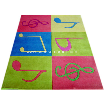 Acrylic Hand Tufted Children Carpet
