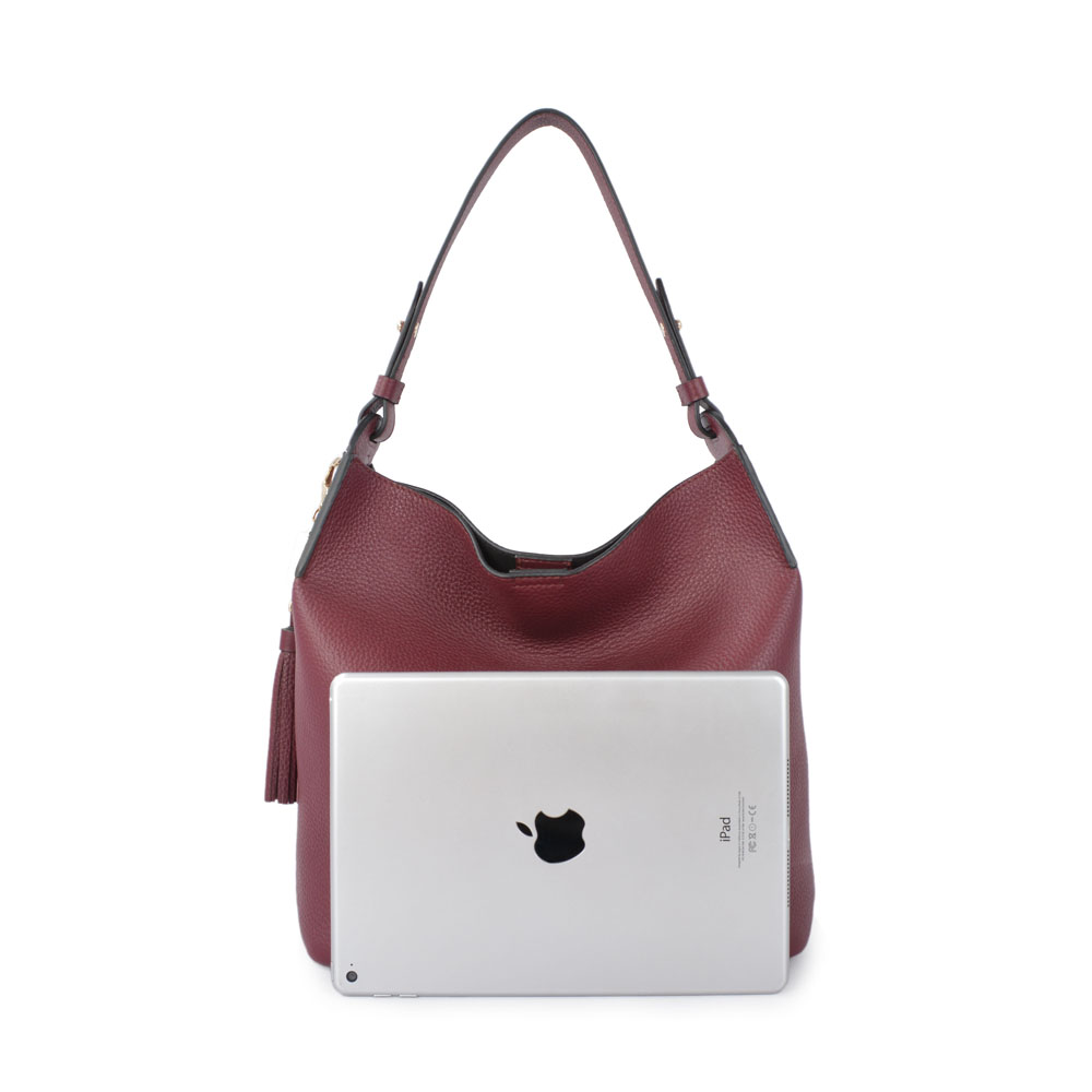 New design Casual hobo Genuine Leather lady handbags women's bag