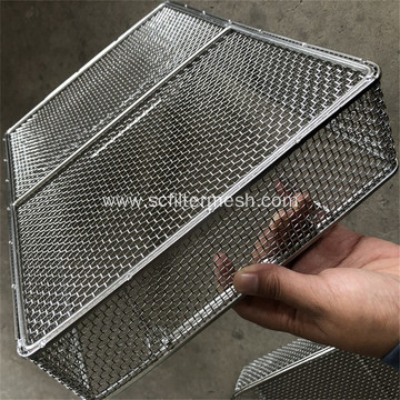 Stainless Steel Mesh Food Grade Baskets