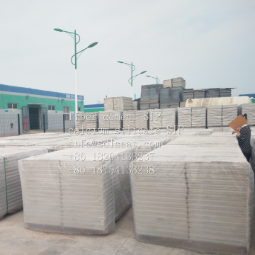 Fireproof Heat Insulation EPS XPS Fiber Cement Sandwich Panels SIP