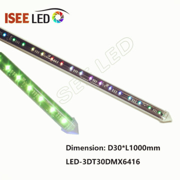 Madrix Nebula Controllable SPI 3D LED Tube Light