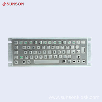 Stainless Steel Keyboard for Information Kiosk