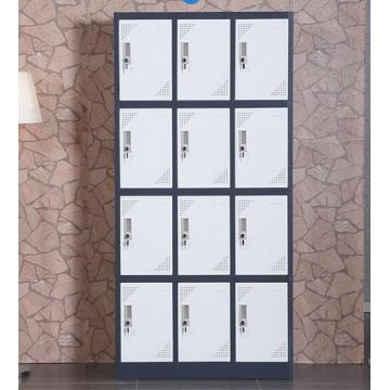Mesh metal lock 12 door locker with feet