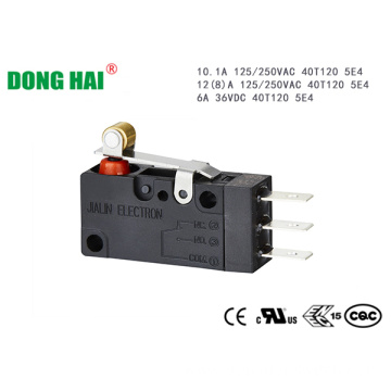 Hinge Roller Lever Dust Proof Micro Switch