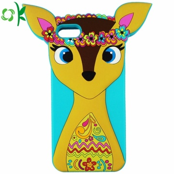 Customized Design 3D Silicone Cartoon Phone Case