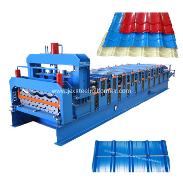 Africa Metal roofing sheets roll forming machine