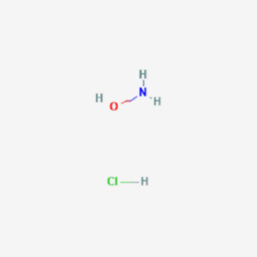 hydroxylamine hydrochloride reaction with acetone