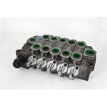 Multi-port multi-way hydraulic valve