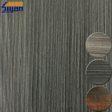 Embossed wood grain 3d lamination film