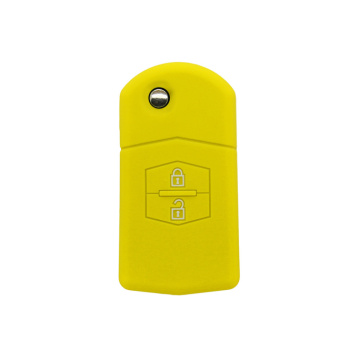 Silicone magnetic car key cover for Mazda