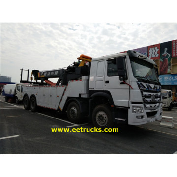 HOWO 50 Ton Heavy Duty Crane Trucks