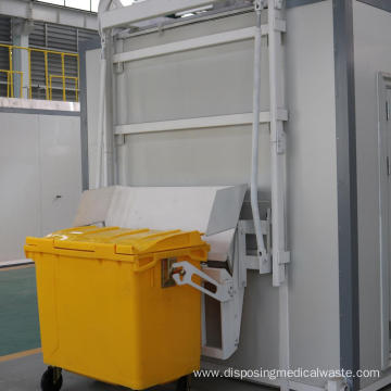 Biomedical Waste Microwave Disinfection System