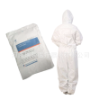 Sterile isolation gown for single use