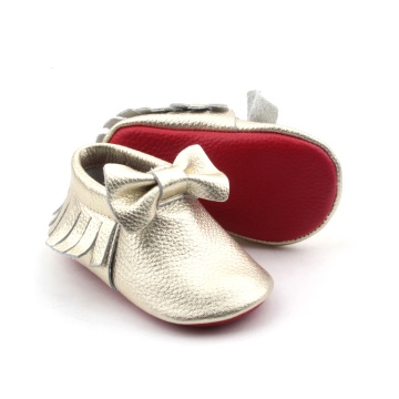 Bowknot Newborn Baby Unisex Moccasins Wholesale