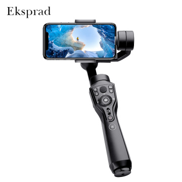 Eksprad 3-Axis Handheld Gimbal Stabilizer Focus Pull Zoom Following the Shooting Mode for iPhone 11 XR XS Samsung Action Camera
