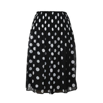 Pleated Chiffon Skirt For Woman