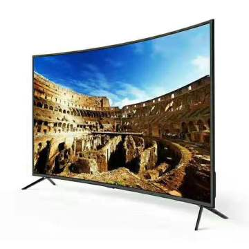 60`` inch curved lcd monitor and android smart TV Dolby DVB-T2 S2 wifi bluetooth TV led television tv