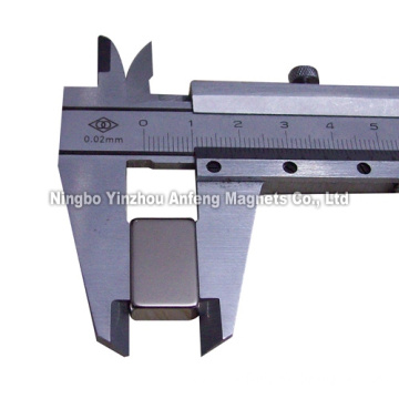 "N52 super magnetic block 3/4""/1/2""*1/4"""