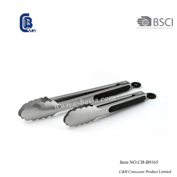 Stainless Steel Kitchen Barbecue Tongs