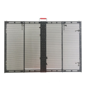Semi Outdoor High Brightness Rental Transparent LED Display