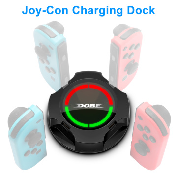 Rocketek 4 in 1 Charging Dock For Nintend Switch Joy-con Controller LED Type-C Charger For Switch Pro Gamepad Charge Stand NS