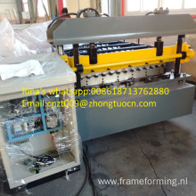 pillar type steel roof/wall sheet making machine