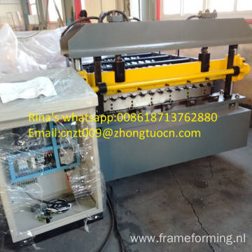2017 new steel sheet machine trapezoid roofing sheet roll forming machine