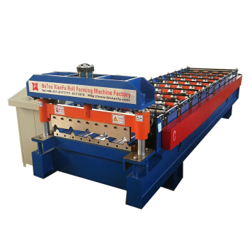 Fashionable Trapezoidal Type Metal Roof Roll Forming Machine