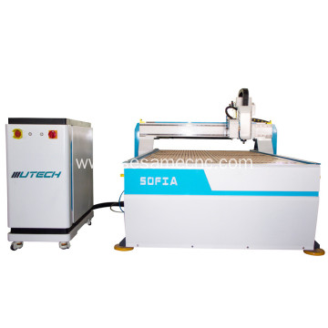 ccd cnc router oscillating knife cutting table