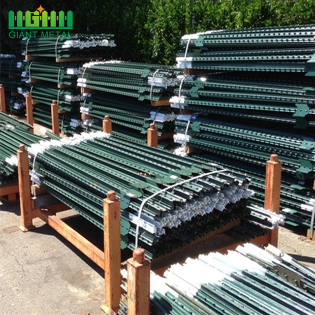 wholesale Hot dipped galvanized cheap fence t posts