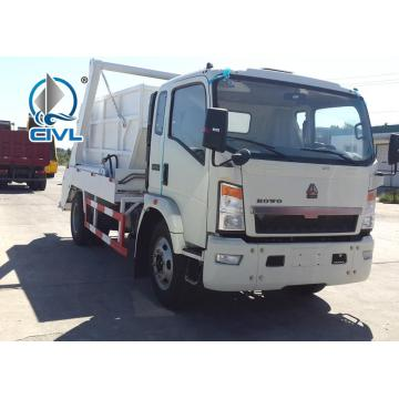 6 Tires Swing Arm Garbage Collection Truck