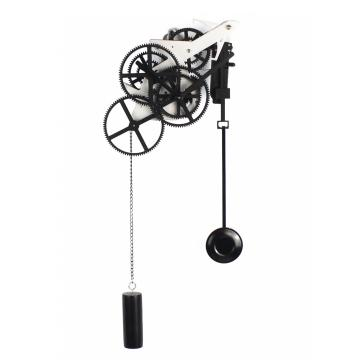 Branch Pendulum Gear Wall Clock