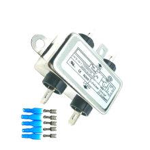 5PCS EMI Filter CW1B-10A-T 115V 250V 50/60HZ 10A