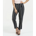 Elastic On the Waist Casual Pants Trouser