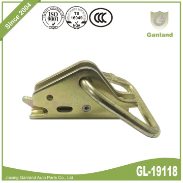 Steel E-Track Triangle Ring for TieDown System