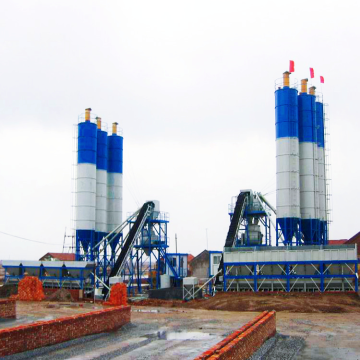 Cement automatic 60m3 concrete mixing plant machine