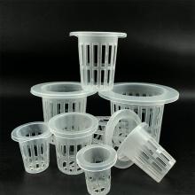 10 Pcs/lot PVC Plastic Mesh Pot Garden Hydroponic Nursery Net Cup Vegetable Plant Soilless Cultivation Basket Practical