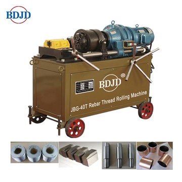 JBG-40T steel bar thread rolling machine/threaders pipe