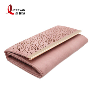 Leather Envelope Clutch Card Holder Wallet