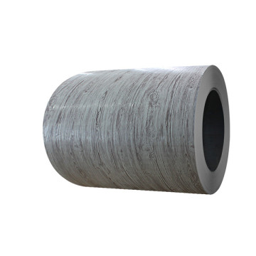 3D wood grain coated aluminium sheet in coil