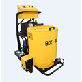Portable crack sealing machine for asphalt pavement