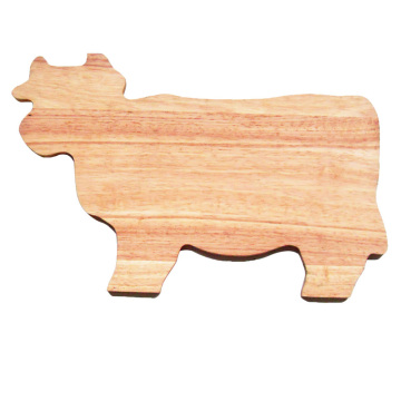 Wood  animal shaped cutting board