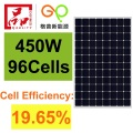 450W Mono Solar Panel High Efficiency