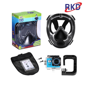 Hot selling mens swimming mask for deep-sea diving