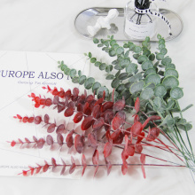 5/10Pcs Simulation Eucalipto Artificial Eucalyptus Leaf Artificial Plants for Wedding Shooting Prop Home Decoration Garland