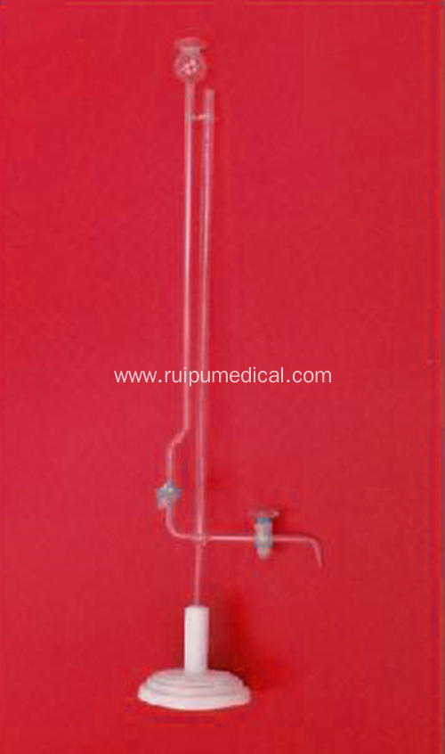 MICRO BURETTE with WOODEN BASE GRADE B