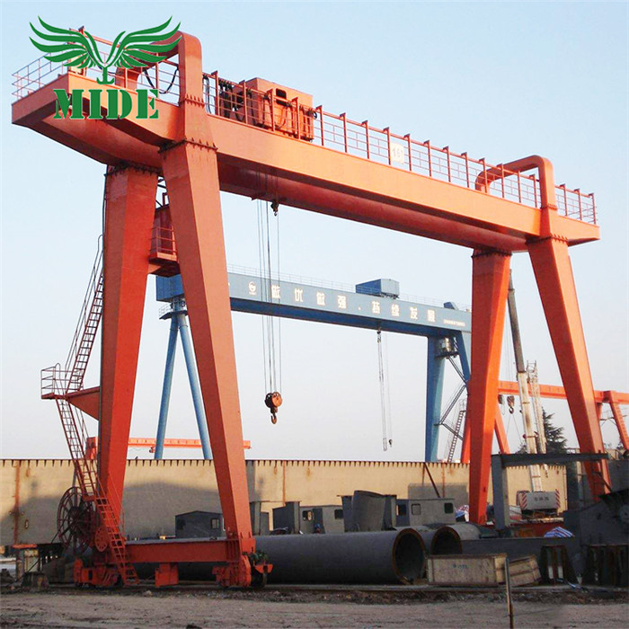 MG double girder box type gantry crane