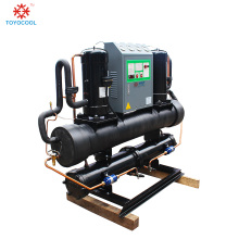 open style cooling water and chiller plant